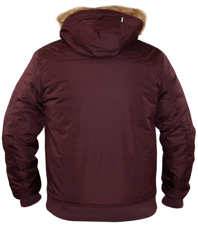 Parka Designer Button Mens Hood Trim Fur Kangol Zip Faux Jacket FBxwa5ZwqE b2b6173664c